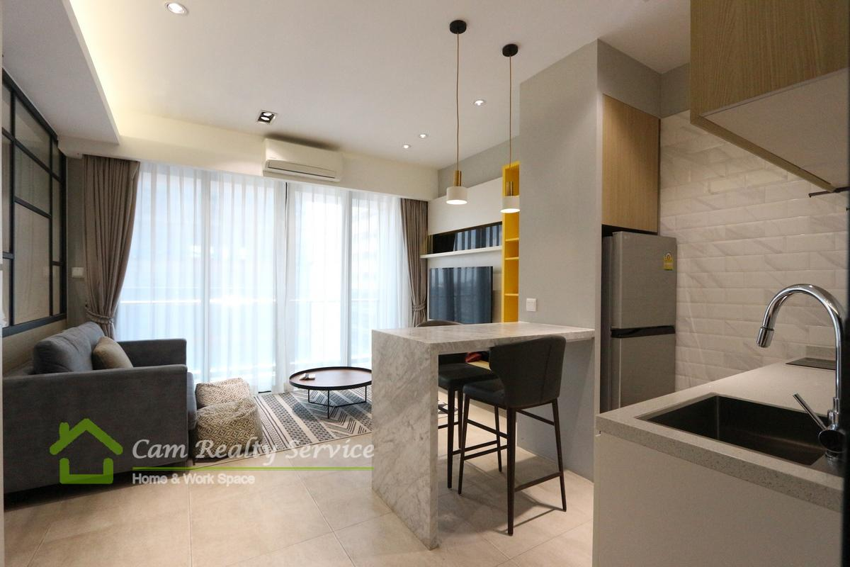BKK1 area| Western style 1 bedroom serviced apartment for rent in Phnom Penh| 750$/month up
