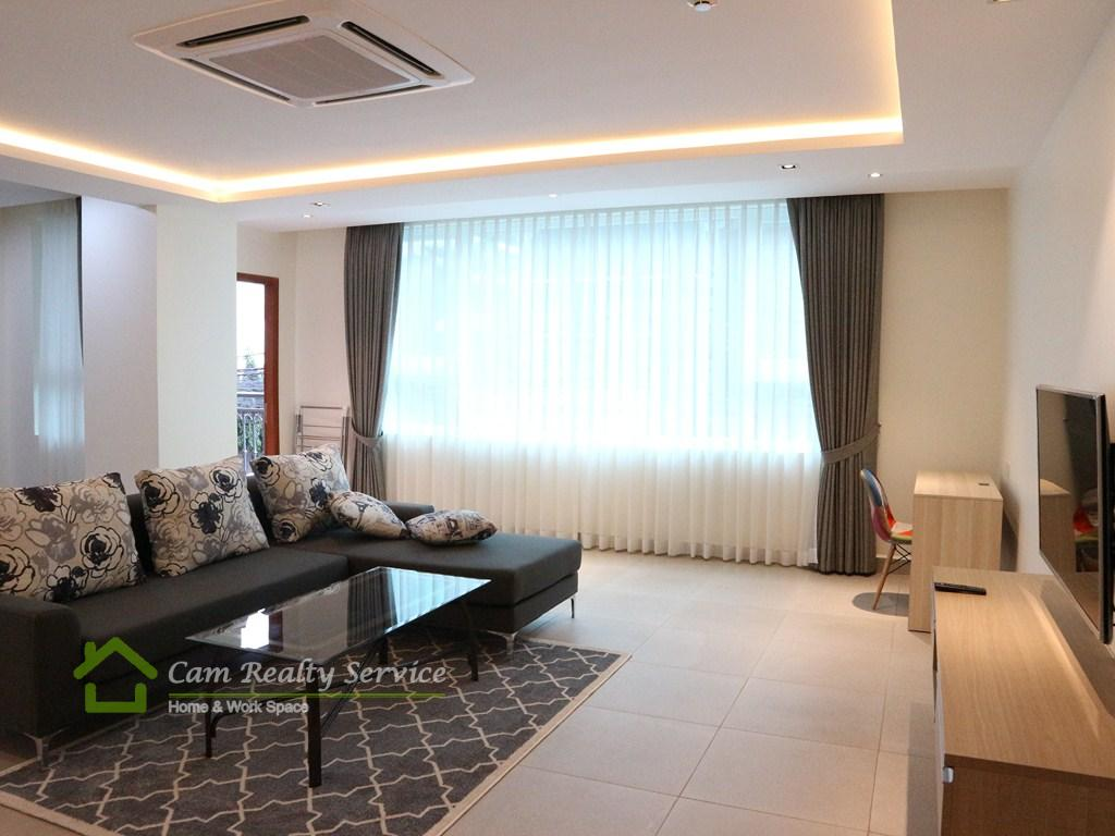 Great location in Russian market area  Modern style 1 bedroom serviced apartment available for rent  700$/month up  Pool, gym & Sauna  Phnom Penh