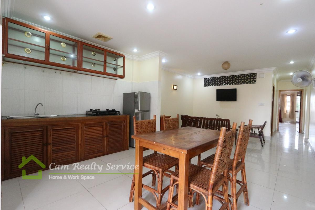 Russian Market| Furnished 2 bedrooms apartment available for rent| 350$/month| Phnom Penh