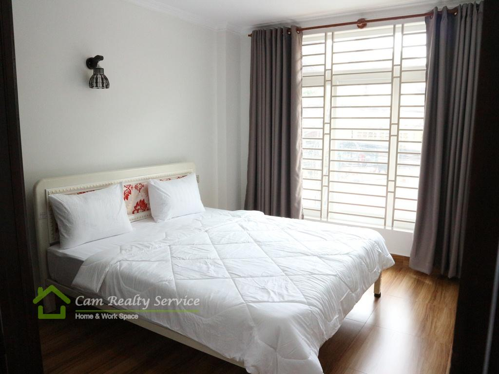 Russian market| Very nice 1 bedroom serviced apartment available for rent| 300$/month| Gym| Phnom Penh