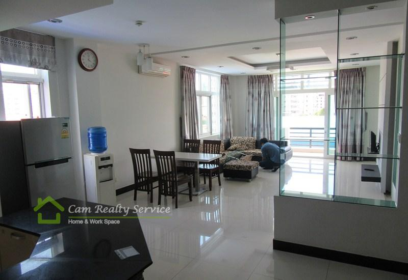 Russian Market| Spacious and beautiful 2 bedrooms apartment available for rent| 600$/month up| Phnom Penh