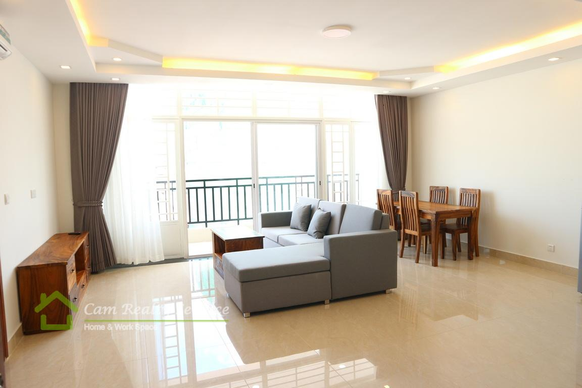 Russian market| Very nice 1 bedroom serviced apartment available for rent| 480$/month up| Gym| Phnom Penh