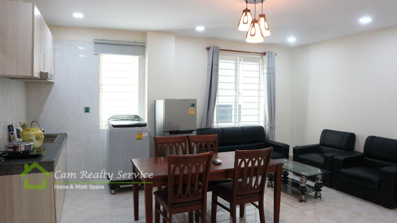 Russian Market  Nice 2 bedrooms apartment serviced available for rent  500$/month up  Phnom Penh