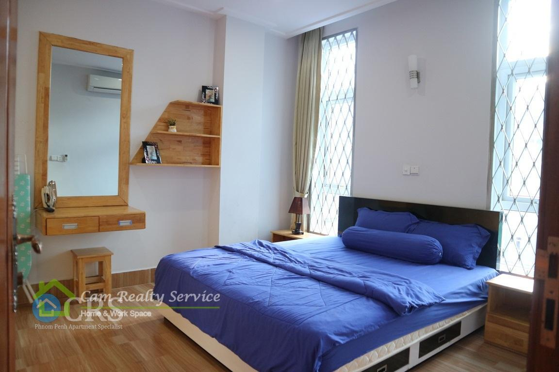 Russian market| Very modern and nice 1 bedroom serviced apartment available for rent| 300$/month up to 330$/month| Phnom Penh