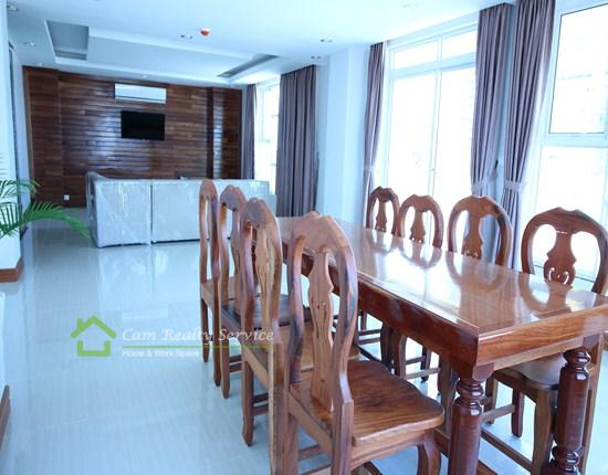 BKK1 area| The nice 2 bedrooms serviced apartment available for rent| 1000$/month up