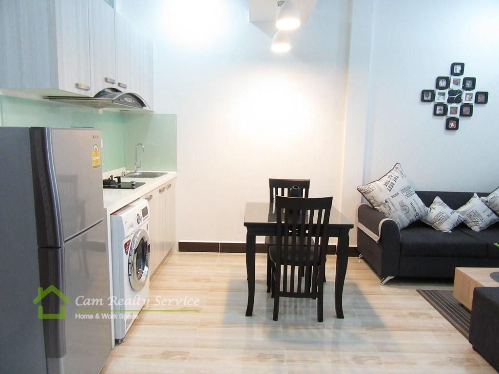 Russian Market  Beautiful 1 bedroom serviced apartment available for rent  350$/month  Phnom Penh