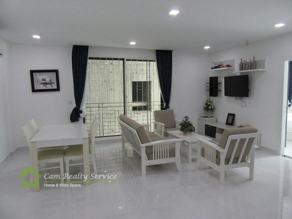 Russian Market| Modern designed 2 bedrooms serviced apartment available for rent| 700$/month| Phnom Penh