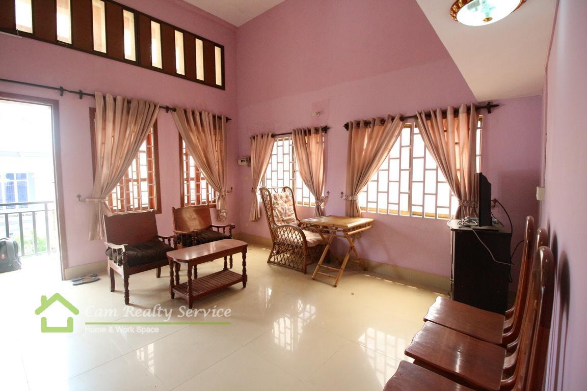 Russian market area| Duplex 1 bedroom apartment for rent| 250$/month| Phnom Penh
