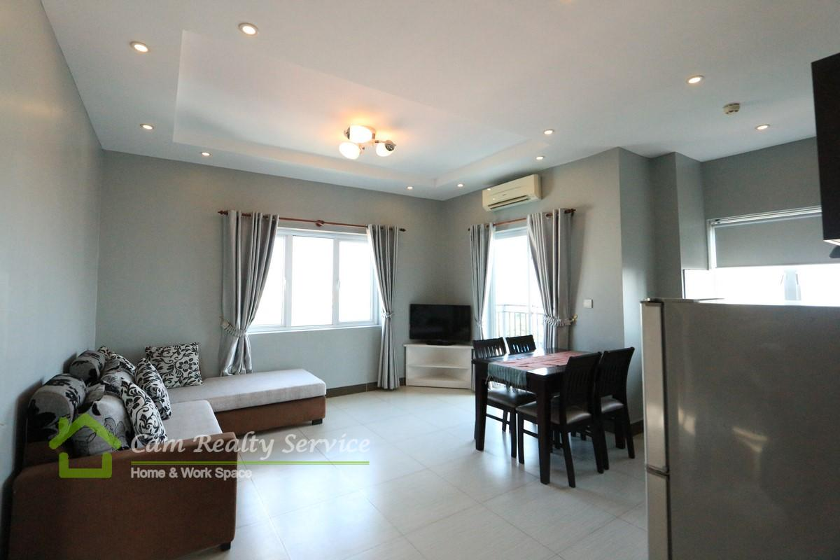 Russian Market| Very nice 1 bedroom serviced apartment available for rent| 500$/month up| Phnom Penh