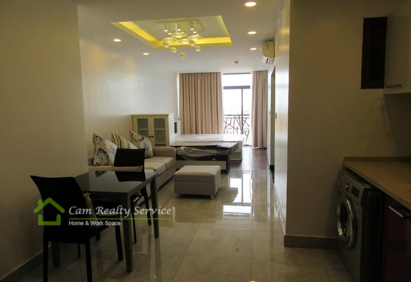 Wat Phnom Penh Area  Modern And Beautiful Studio Apartment Available For Rent 800$/Month (Swimming Pool, Gym, Sauna)