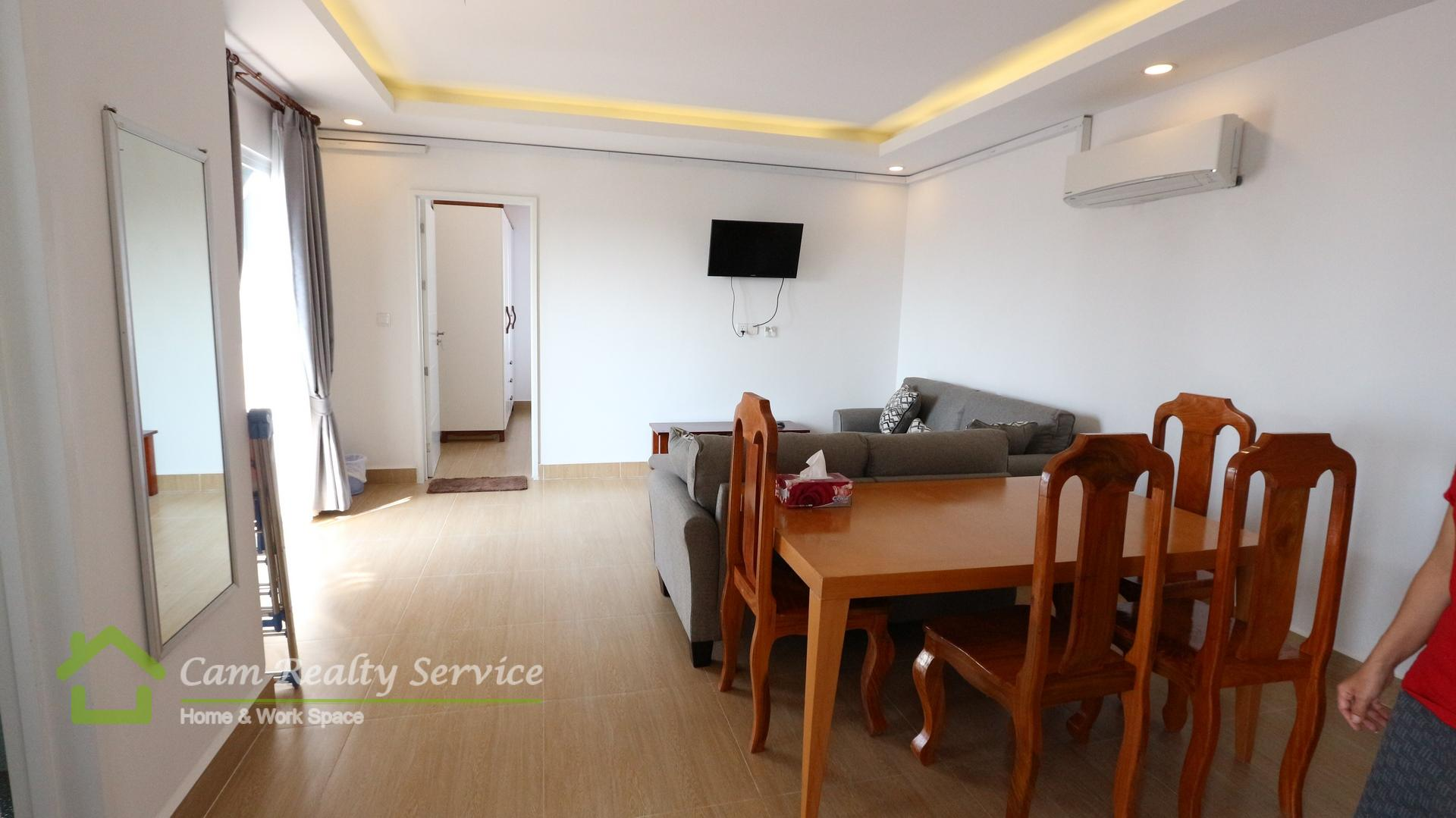 BKK3 area| Modern style 2 bedrooms apartment for rent| 800$/month| Pool & gym