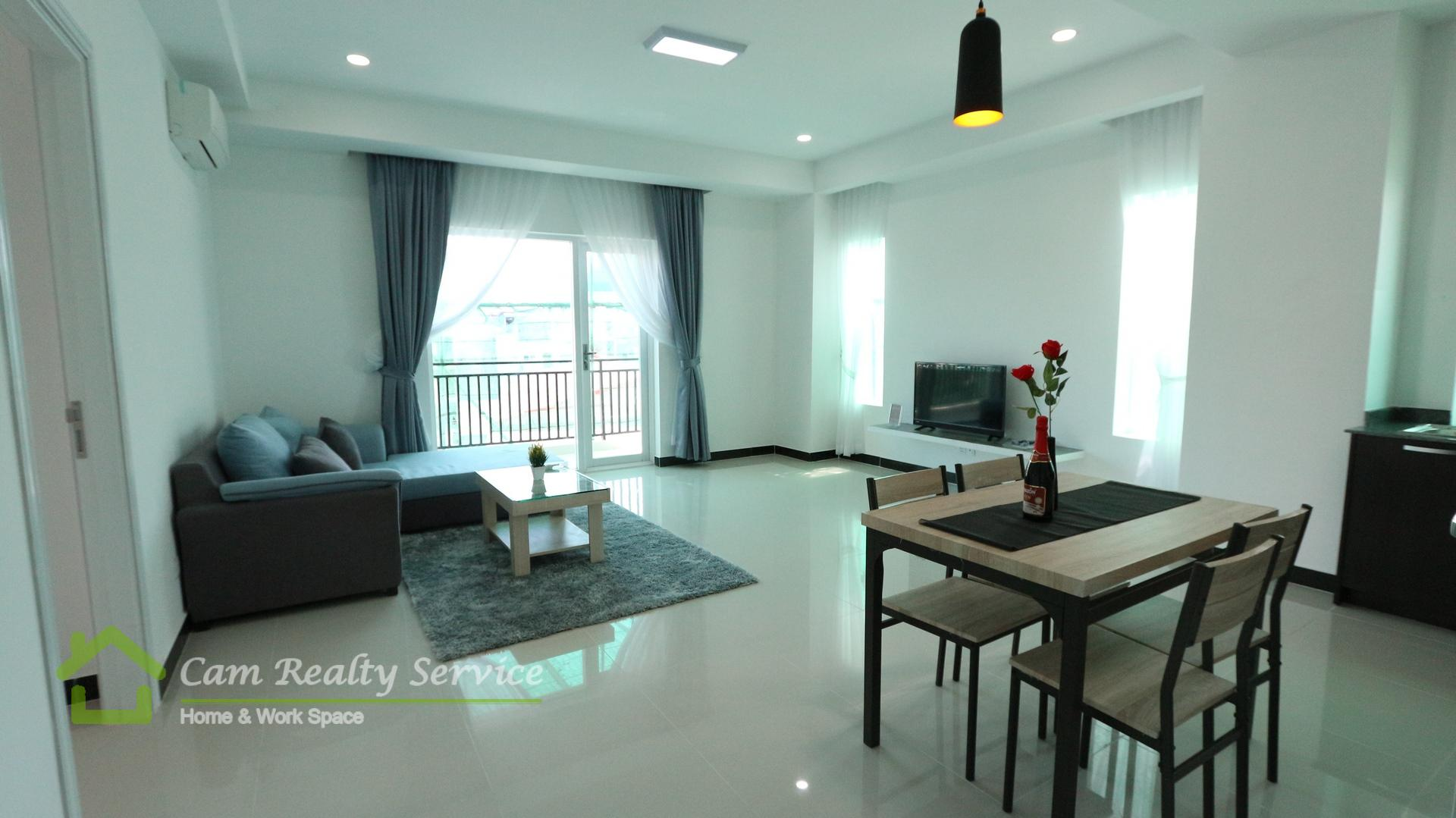 Aeon Mall area| Modern style 1 bedroom serviced apartment for rent| 700$/month | Pool & Gym