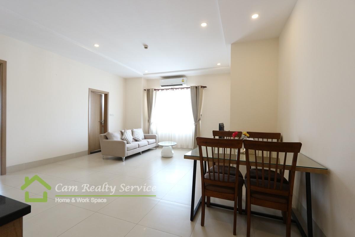 Living room_serviced apartment for rent near BKk1