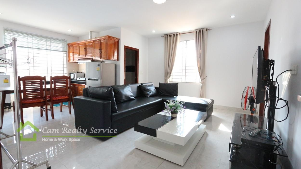 BKK2 area  Modern style 2 bedrooms apartment available for rent  450$/month