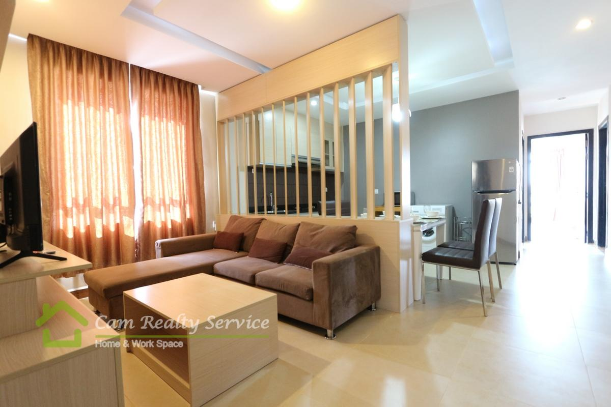 Toul Kork Area| The spacious 2 bedrooms Serviced apartment available for rent 650$/month up