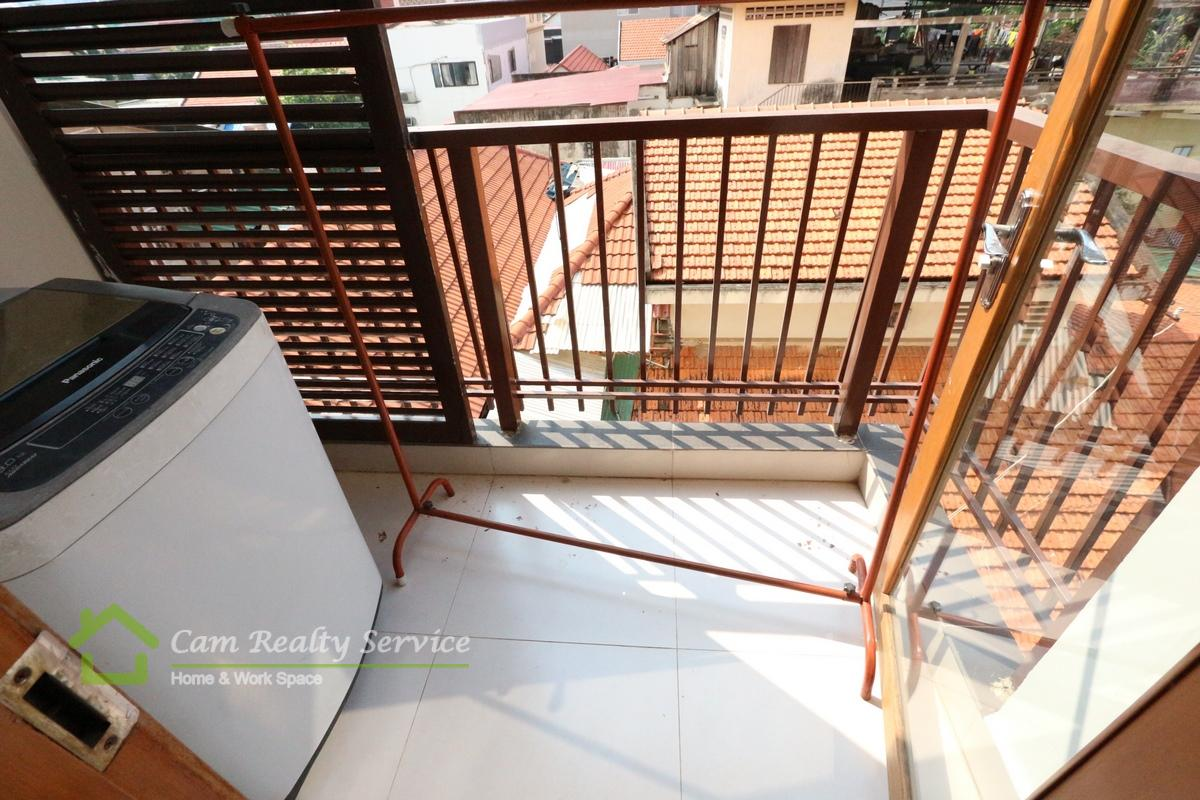 washing machine area_2 bedrooms serviced apartment for  rent in BKK1