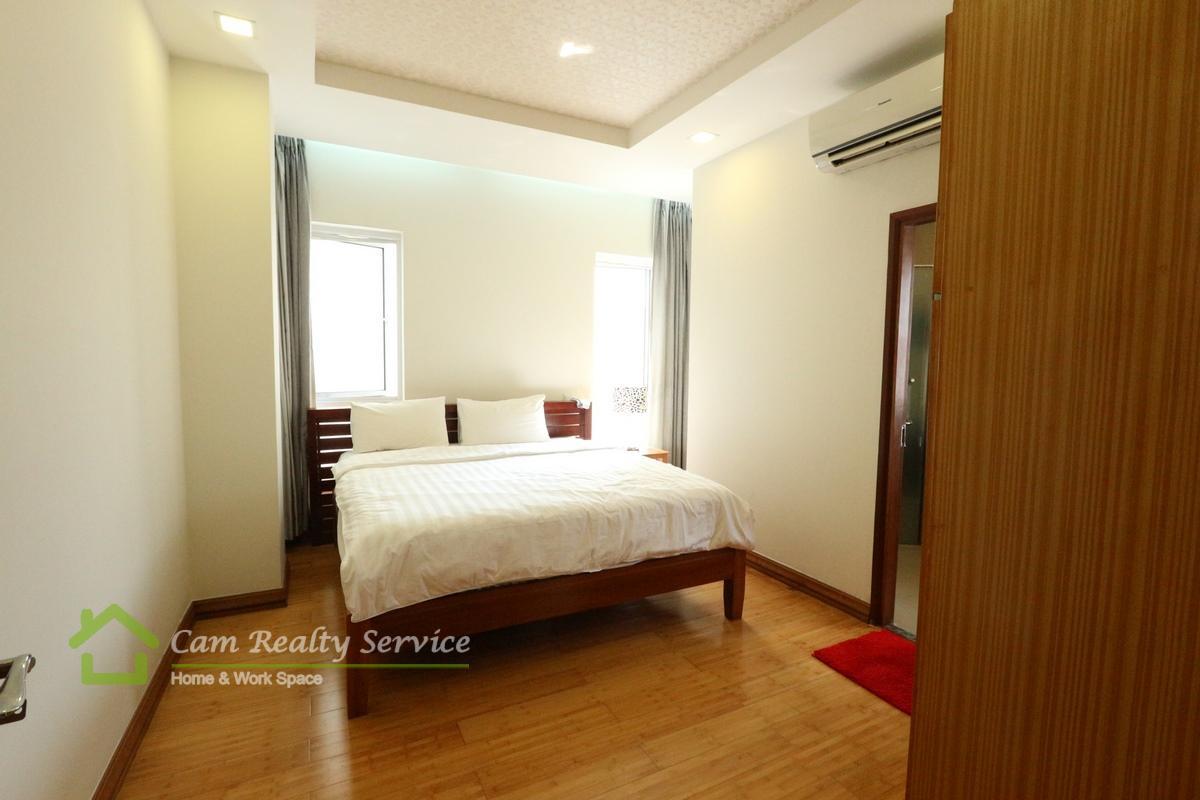 bedroom_2 bedrooms serviced apartment for  rent in BKK1
