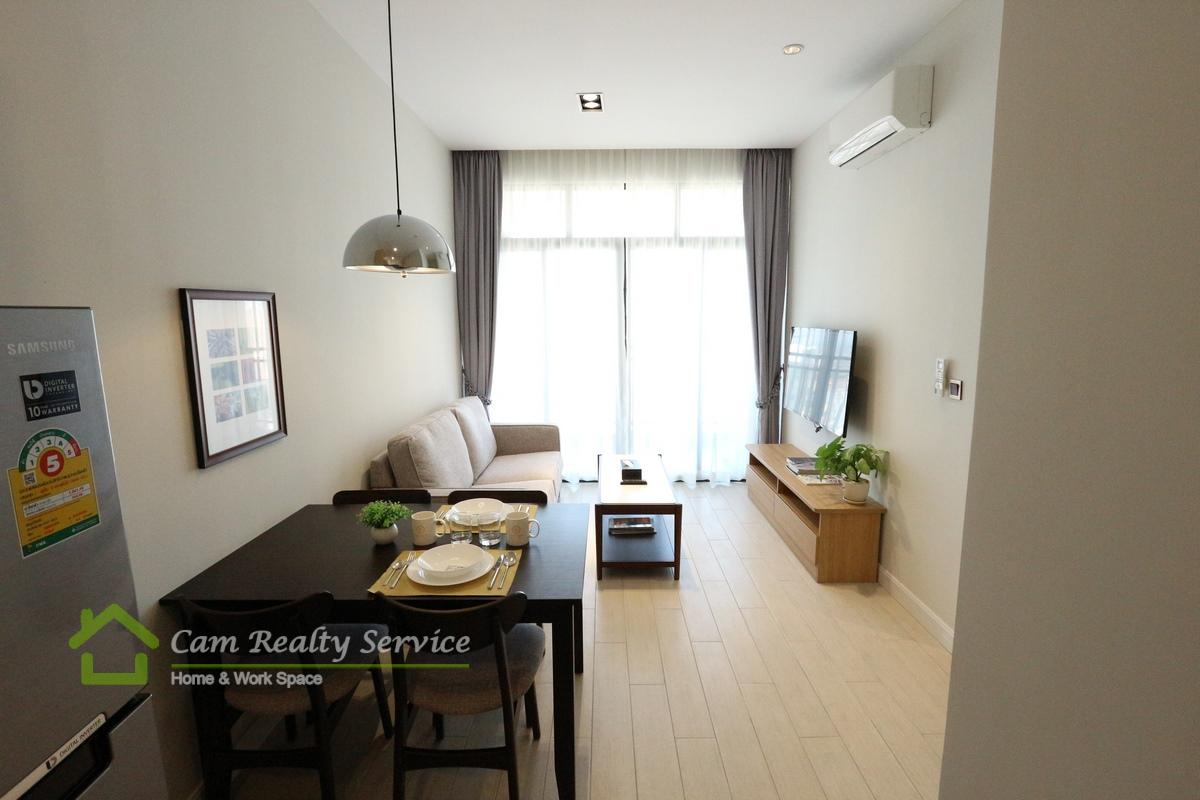 BKK1 area| Modern style 1 bedroom serviced apartment for rent in Phnom Penh | 750$/month up| Rooftop pool, gym, steam, sauna & jacuzzi
