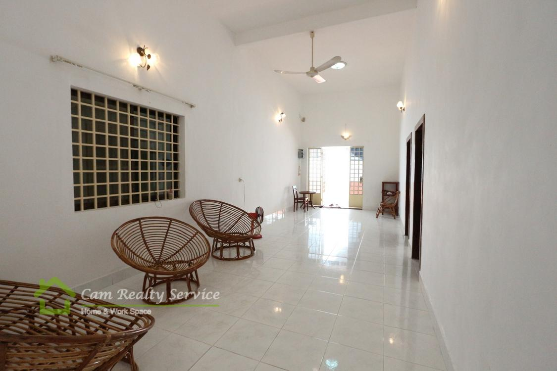 Aeon Mall area| Spacious 3 bedrooms ground floor town-house available for rent| 800$/month