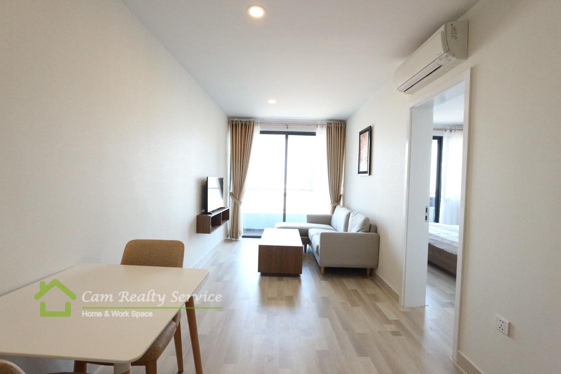 Tonle Bassac| Modern style 1 bedroom condominium for rent| 1200$/month| Pool, gym, steam & sauna