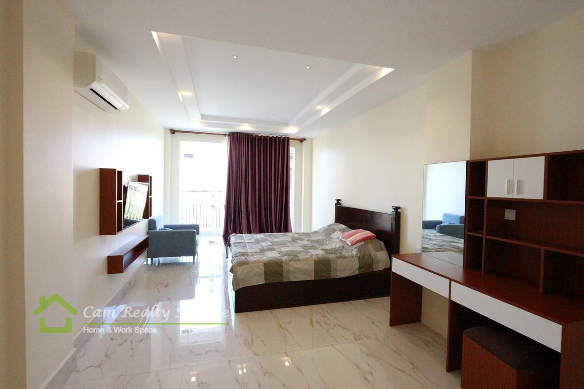 Vatanak Tower Area  Modern Style 1 Bedroom Serviced Apartment For Rent Close To Vatanak Tower 700$/month up