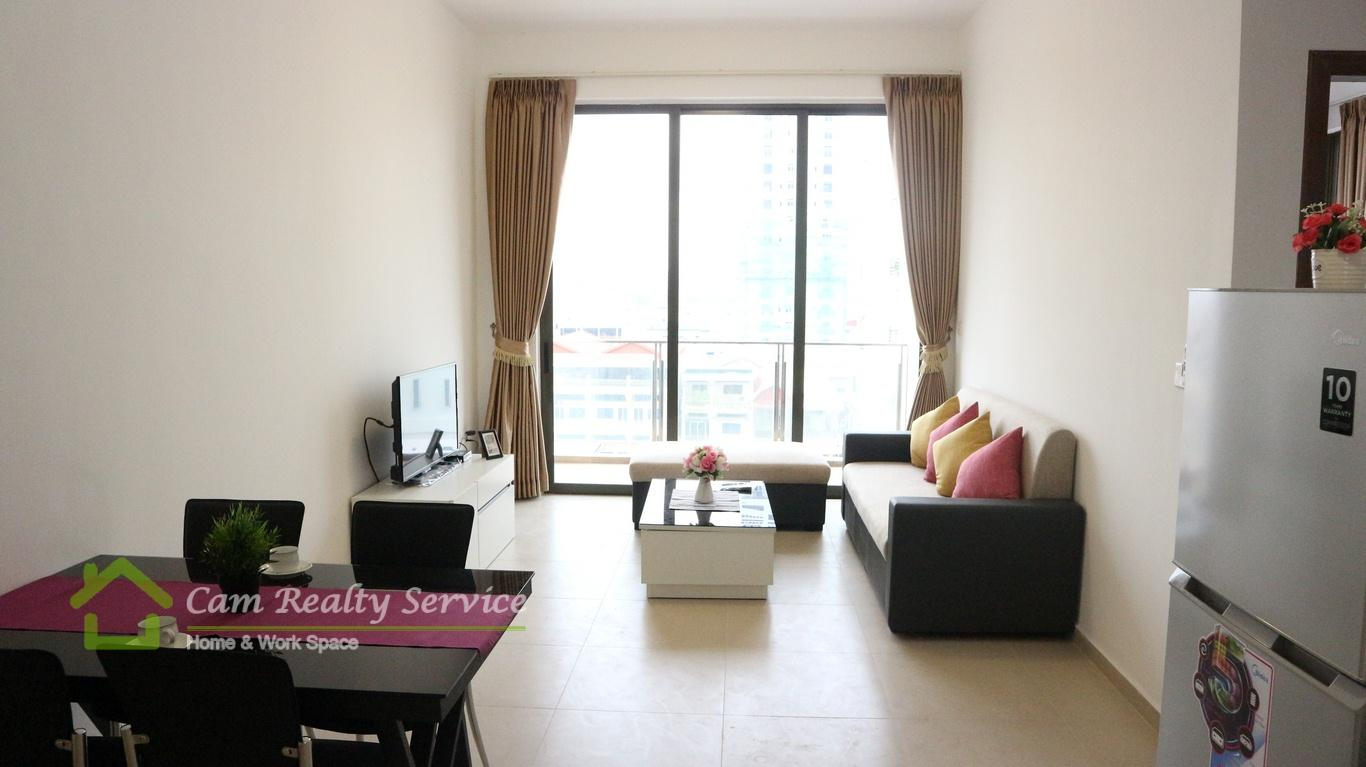 BKK3 area  Modern style 2 bedrooms apartment available for rent  750$/month  Pool & Gym