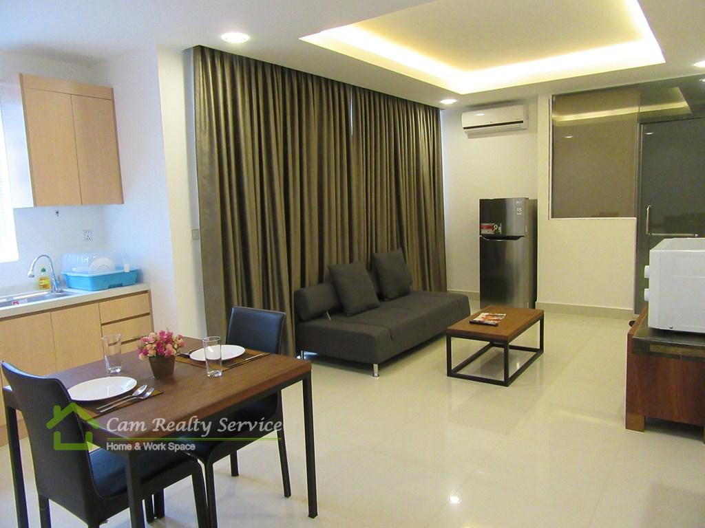Toul Kork area  The stunning 1 bedroom apartment for rent  450$/month up