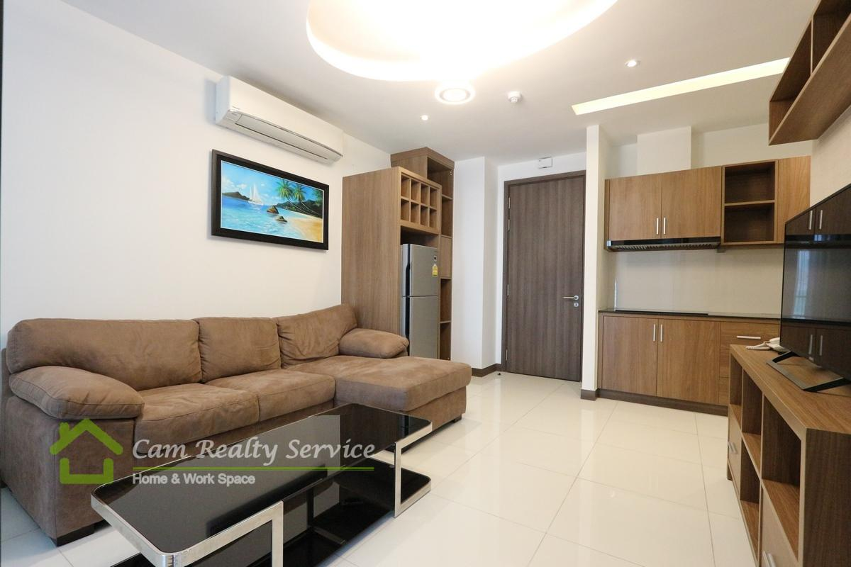 Toul Kork area  Nice Serviced Apartment 1 bedroom for rent 550$/month up  Pool & gym