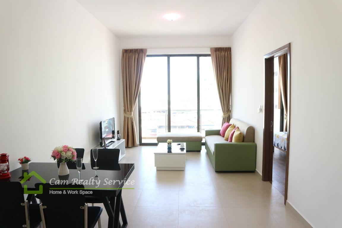 BKK3 (Close to BKK1 area)| Modern style 1 bedrooms serviced apartment available for rent| 600$/month up| Pool & Gym