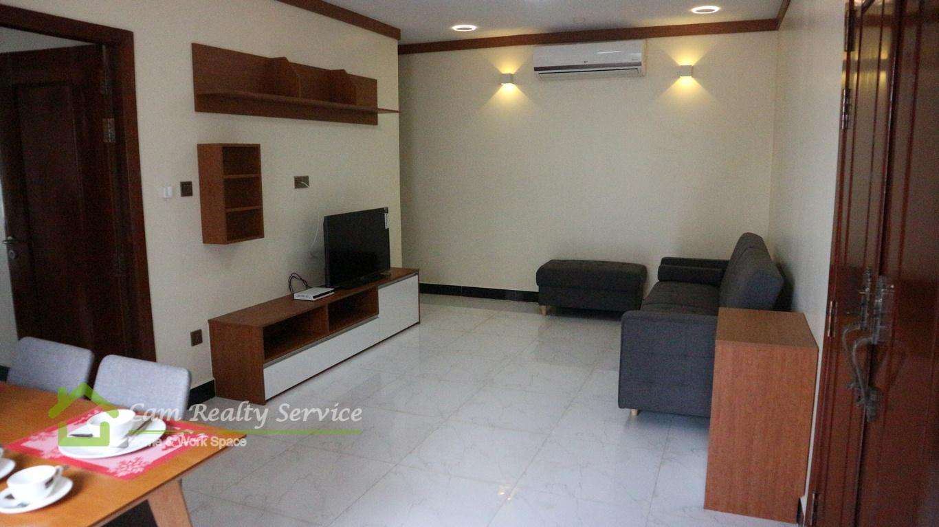 Toul Kork Area| Western style 2 bedrooms apartment available for rent 650$/month