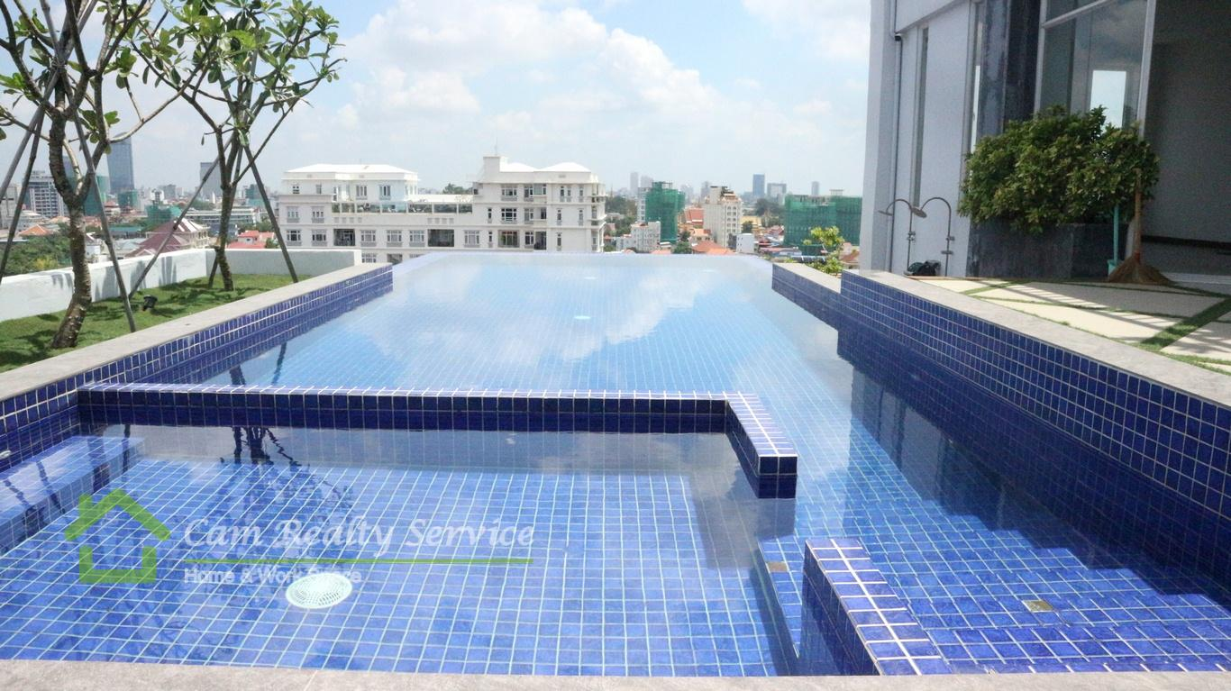 serviced apartment  for rent near independence monument in Phnom Penh