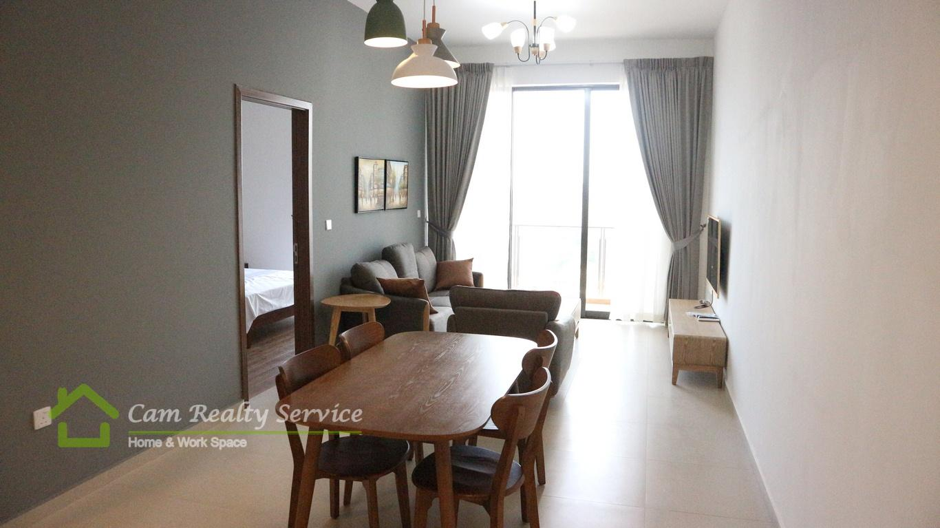 BKK3 (Close to BKK1 area)| Western style 1 bedrooms serviced apartment available for rent| 650$/month| Pool & gym