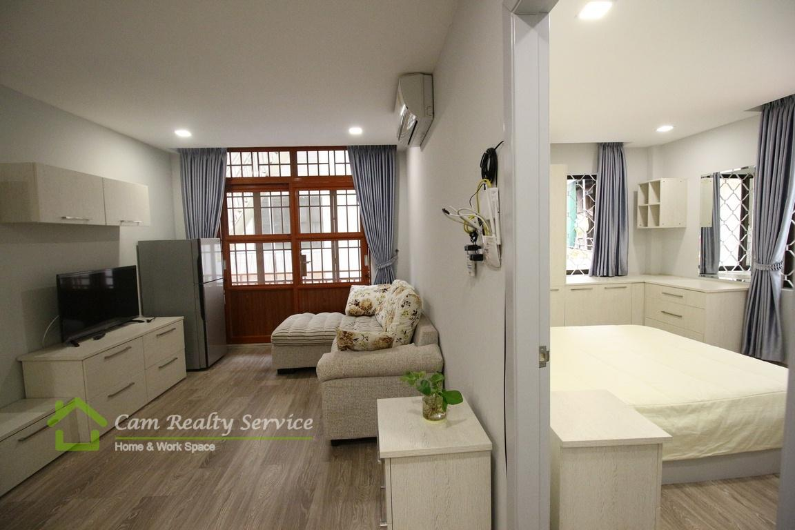 BKK1 area| Nicely renovated 1 bedroom apartment available for rent| 550$/month