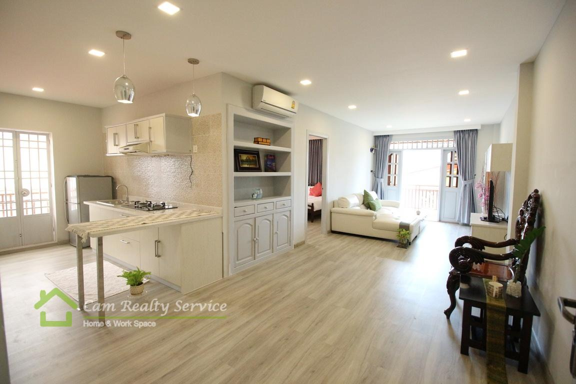 BKK1 area| Nicely renovated 2 bedrooms serviced apartment available for rent| 850$/month up