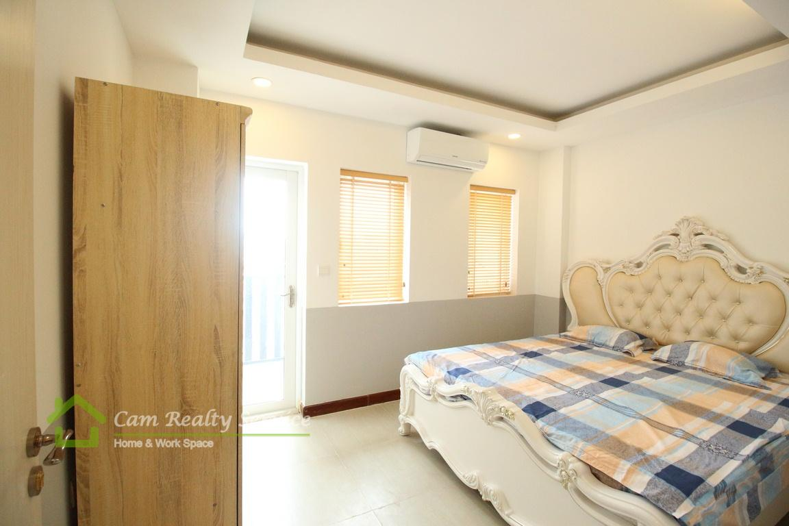 BKK2 area  Fully furnished 1 bedroom apartment available for rent  380$/month