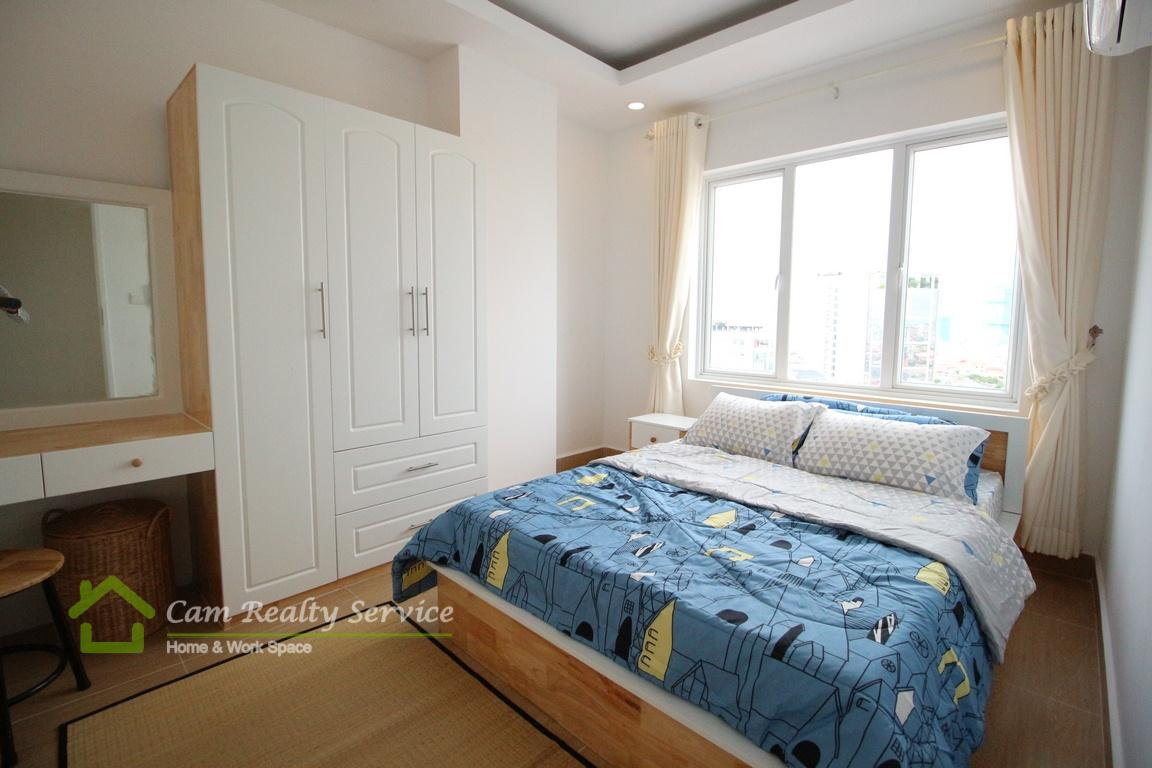 BKK3 area  Modern style 1 bedroom apartment for rent  550$/month  Pool & Gym