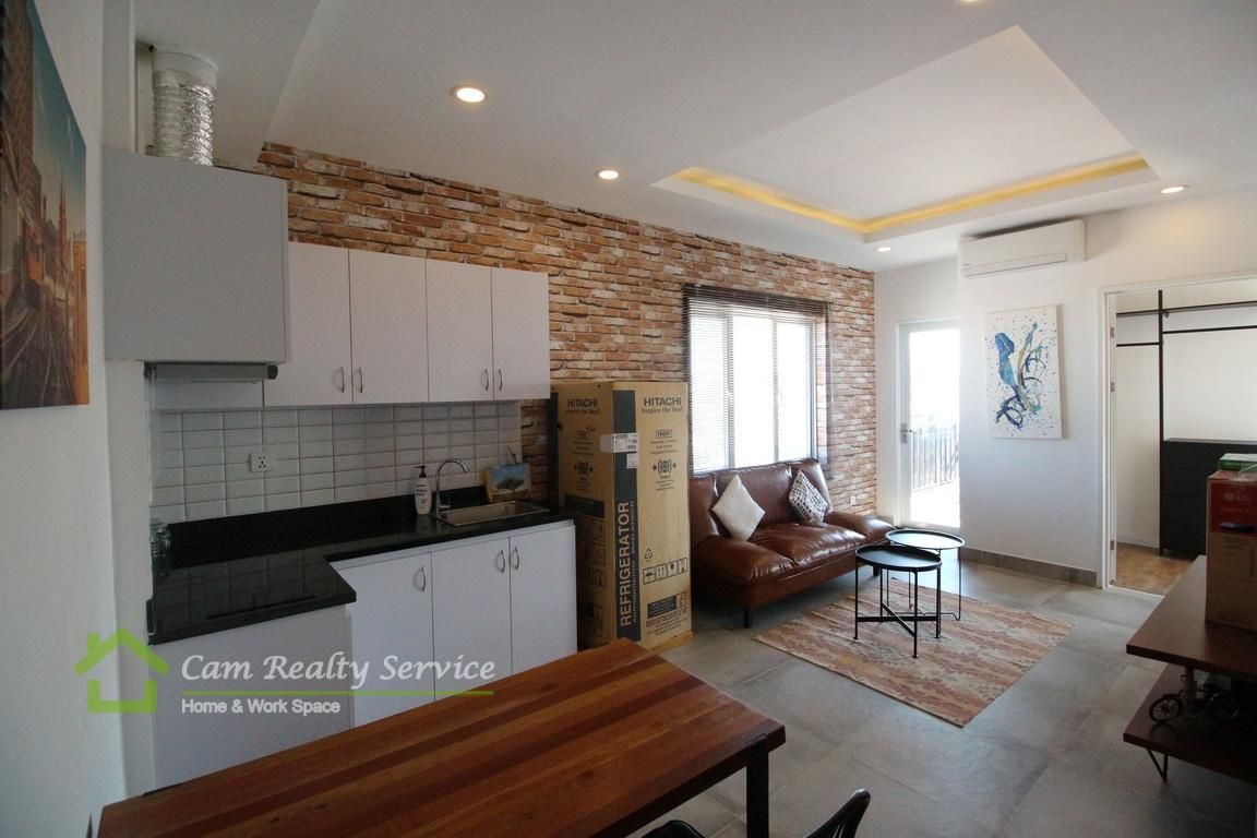 BKK3 area| Modern style 2 bedrooms apartment for rent| 750$/month
