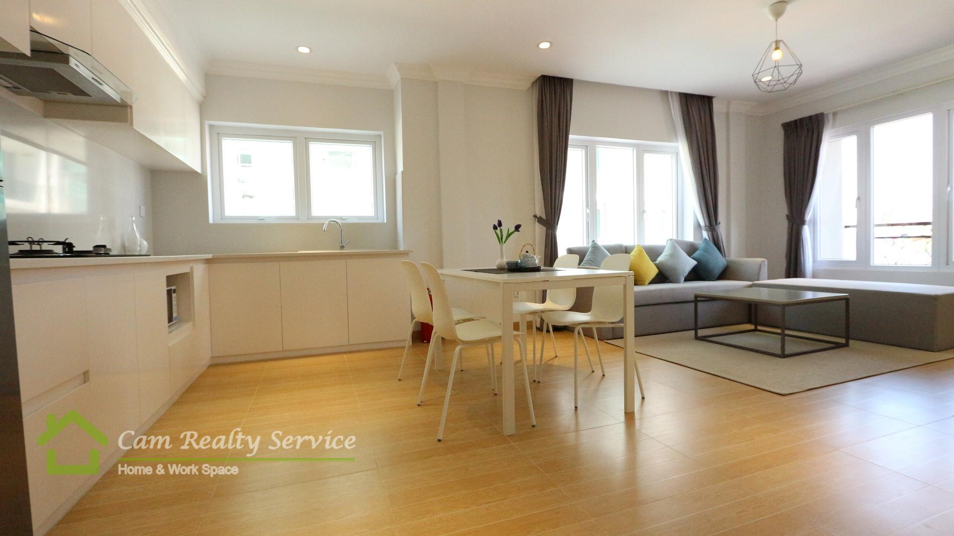 BKK1 area  Modern style 2 bedrooms serviced apartment for rent 1200$/month Up   Phnom Penh   Gym