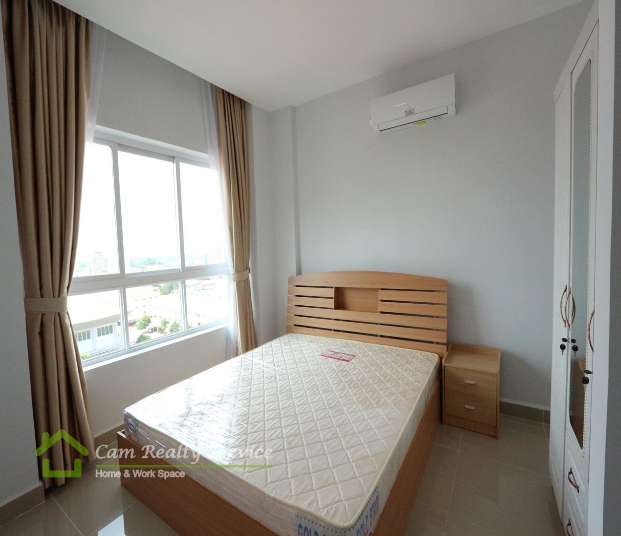 Chroy Changva Area  Nice new western style design 2 bedrooms condominium for rent 450$/month