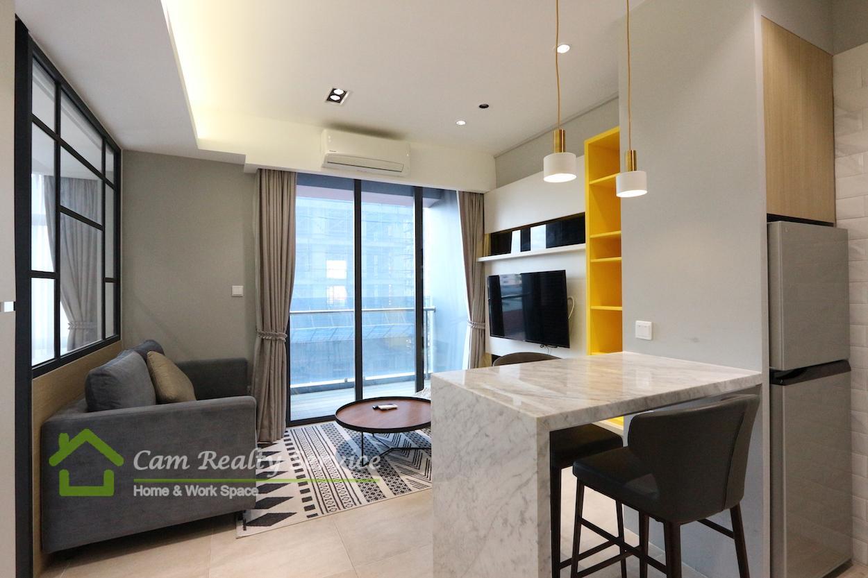 BKK1 area|Western Style 1 bedroom condo in prime location BKK1 for sale on 7th floor 165,000$(Negotiable)