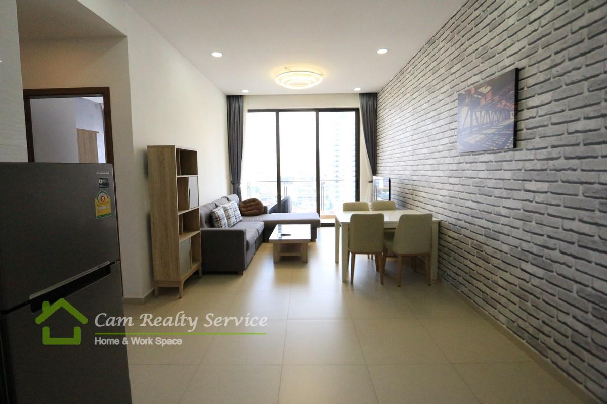 BKK3 area(Close to BKK1 area)  Western style 2  bedrooms serviced apartment for rent  750$/month  Pool & gym