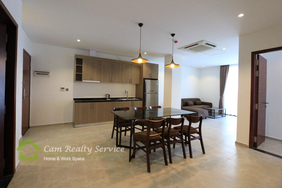 BKK2 area| Modern style 3 bedrooms serviced apartment for rent| 2200$/month up| Pool, gym, steam & sauna