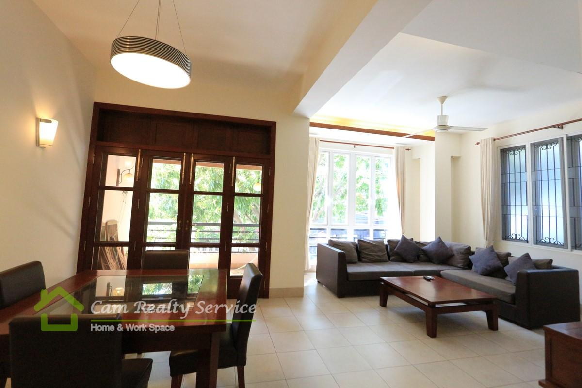 BKK1 area  Very nice classic style 2 bedrooms apartment available for rent  1000$/month up  Gym