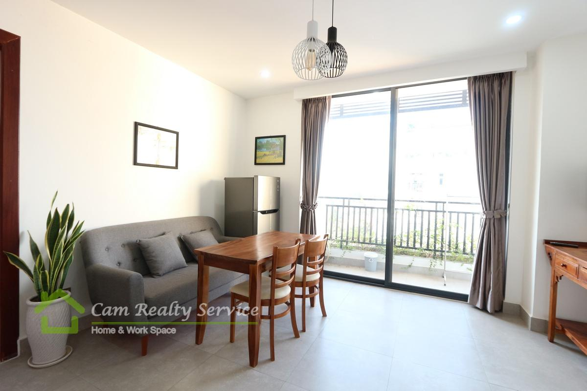 Independence Monument area  Modern style 1 bedroom serviced apartment available for rent 500$/month up  Motor parking
