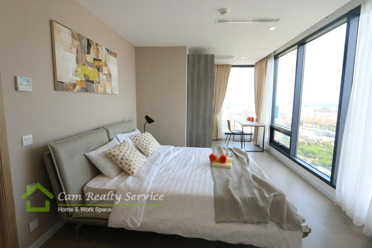 Luxurious 2 bedrooms condominium for rent with amazing view  2200$/month  Pool & Gym