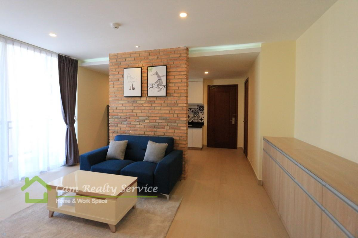 BKK1 area| Modern style 1 bedrooms serviced apartment  for rent| 800$/month up| Pool, gym, steam & saua