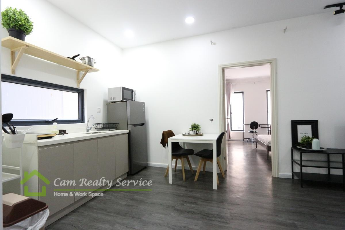 Russian market area  Modern style 1 bedroom apartment available for rent 350$/month