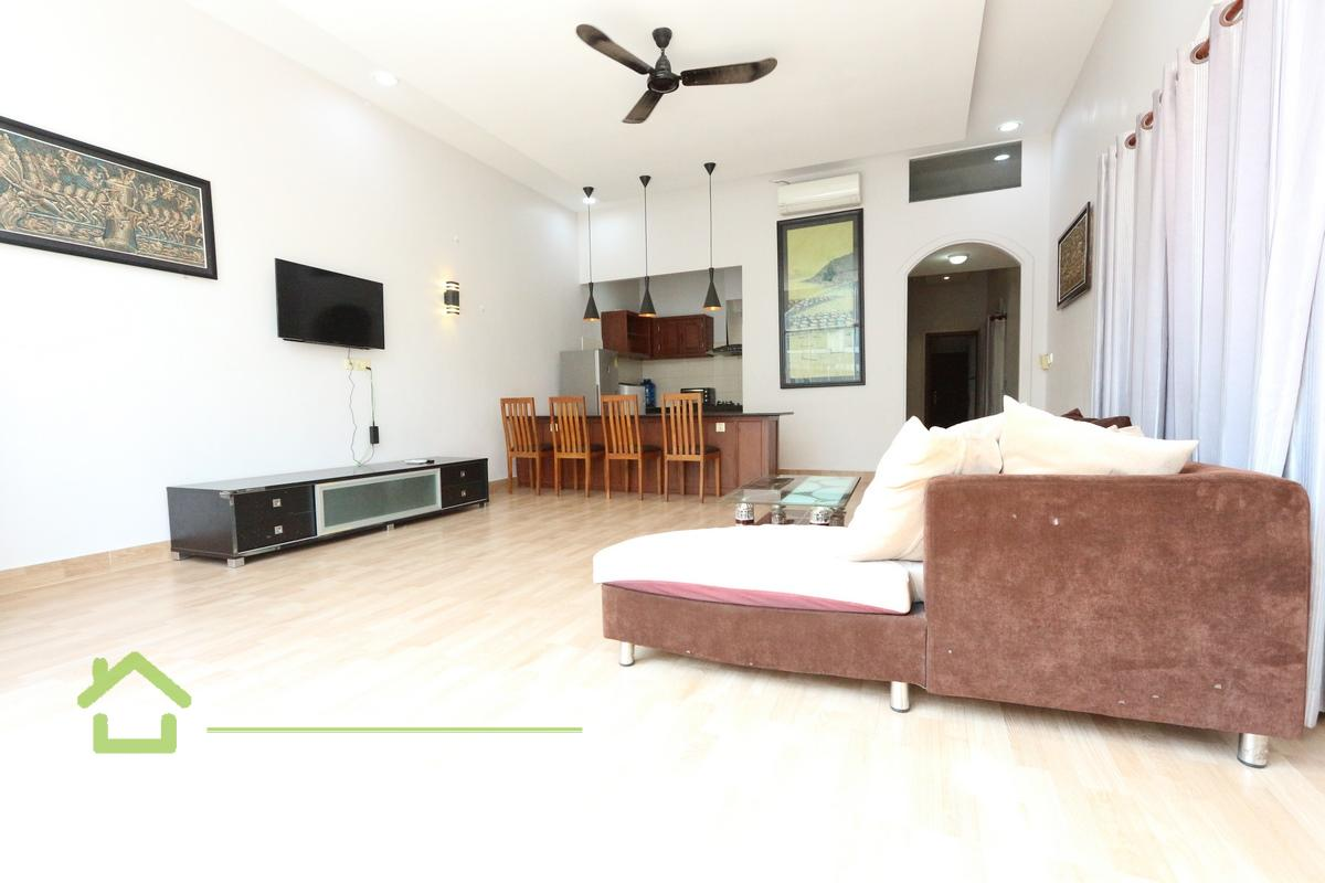 Riverside Area  Modern style 1 bedroom renovated house available for rent 500$/month Phnom Penh