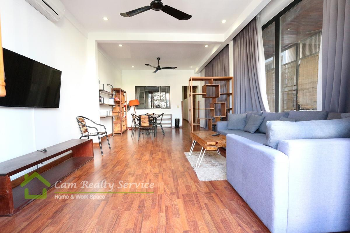 BKK1 Area  Western style 2 bedrooms renovated house available for rent 1050$/month