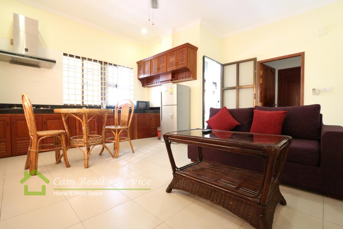 Central Market Area| Modern style 2 bedroom apartment available for rent 450$/month|Motor parking|